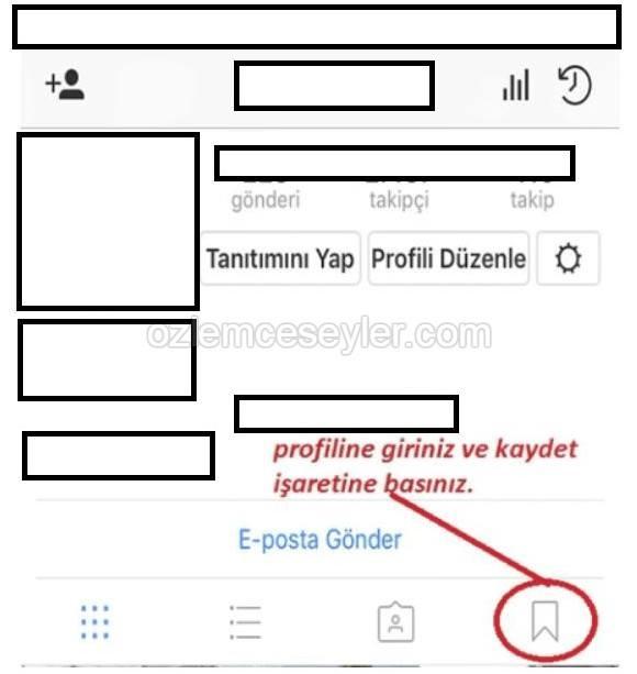 instagram koleksiyon ekleme